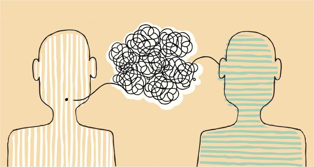 Samtale mellem to mennesker